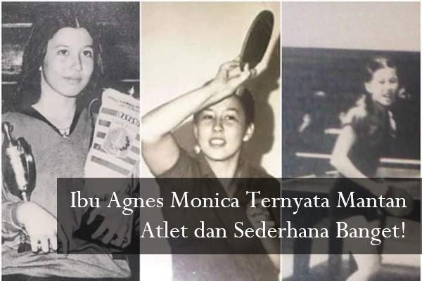 Ibu Agnes Monica Ternyata Mantan Atlet dan Sederhana Banget!